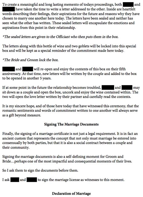 Wedding Officiant Speech by Non Religious Wedding Ceremony Officiant Speech
