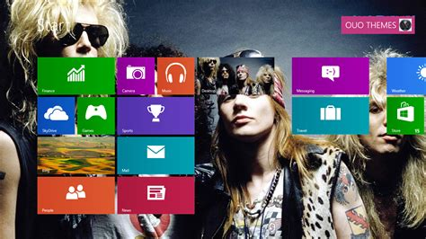 rose themes for windows 8 1 guns n roses windows 8 theme ouo themes