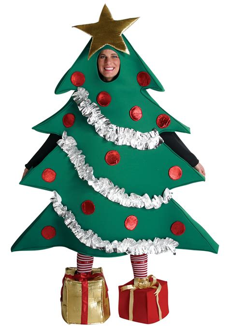 christmas tree costume for adults
