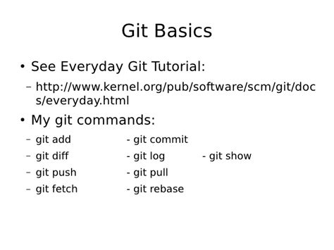 git tutorial log advanced git tutorial