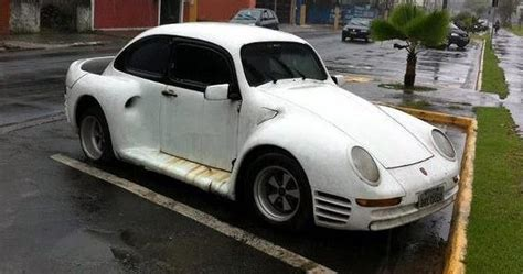 porsche beetle conversion poor man s porsche 959 tries to cover its vw bug roots