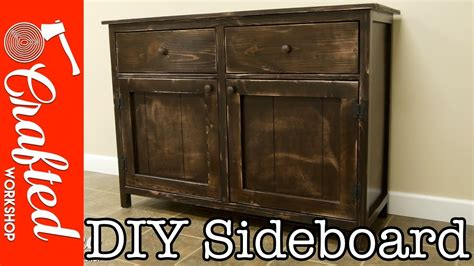 how to a buffet cabinet diy sideboard buffet cabinet how to build