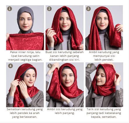tutorial hijab simple satin tutorial hijab segi empat tanpa ciput paling simple dan