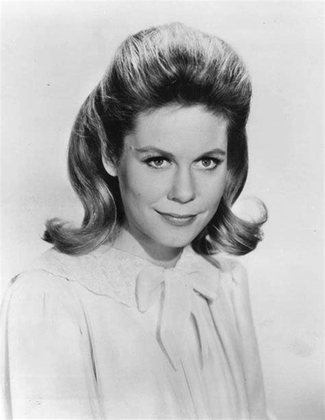 hairstyles in the early 1960s elizabeth montgomery models the flipped bob hair through