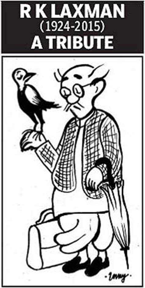 R K Laxman Sketches by 10 That Pay Tribute To Common Rk Laxman