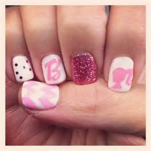 barbie pink nails manicure nails pinterest