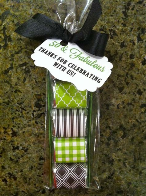Giveaways For 50th Birthday Party - 50th birthday party ideas