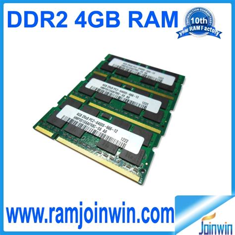 Memory Ddr2 4gb Visipro so dimm ddr2 4gb ram with ett chips