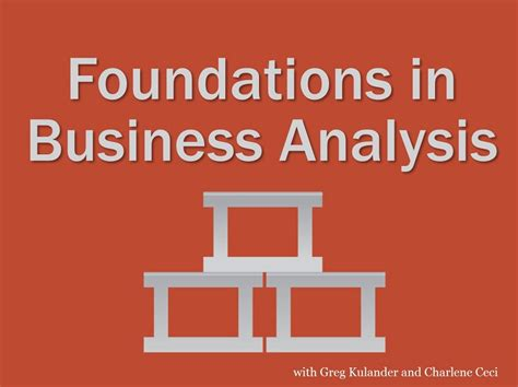 After Mba In Business Analytics by Go Back To Basics And Build A Solid Foundation In Business