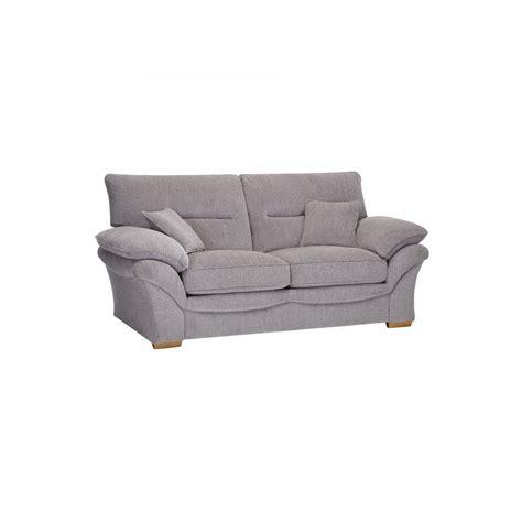 chloe  seater sofa bed  logan fabric grey