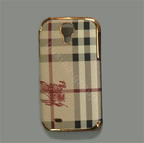 burberry phone buy wholesale burberry leather back cover for samsung galaxy s5 i9600 brown from