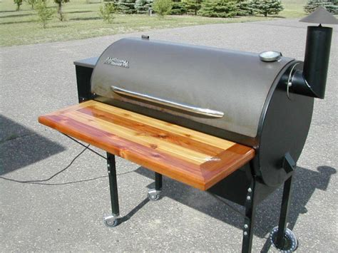 i made a front shelf for traeger smokingmeatforums