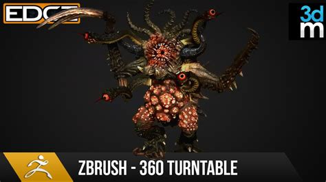 Zbrush Turntable Tutorial | zbrush tutorial render a 360 turntable for your sculpts