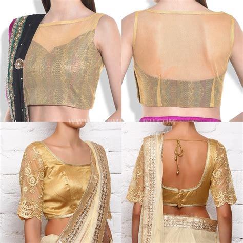 download golden blouse designs images download free