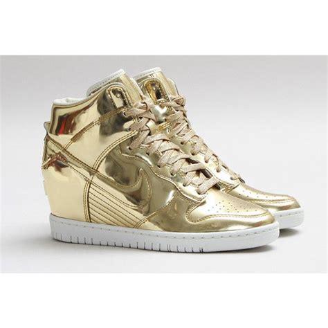 Sneaker Gold sneaker nike gold
