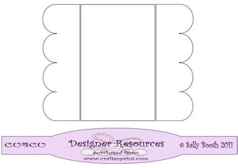 template for gatefold card scalloped gatefold template cup194780 1026 craftsuprint