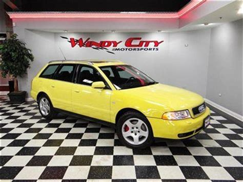 2001 audi a4 2 8 buy used 2001 audi a4 2 8 v6 avant quattro wagon low