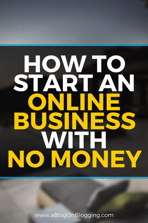 How To Make Money With An Online Business - how to start an online business with no money