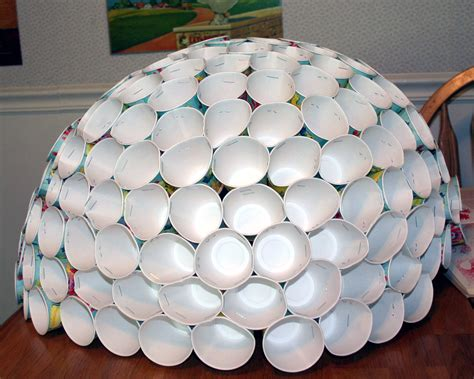 How To Make A Dome Out Of Paper - how to make a dome with paper cups ehow uk