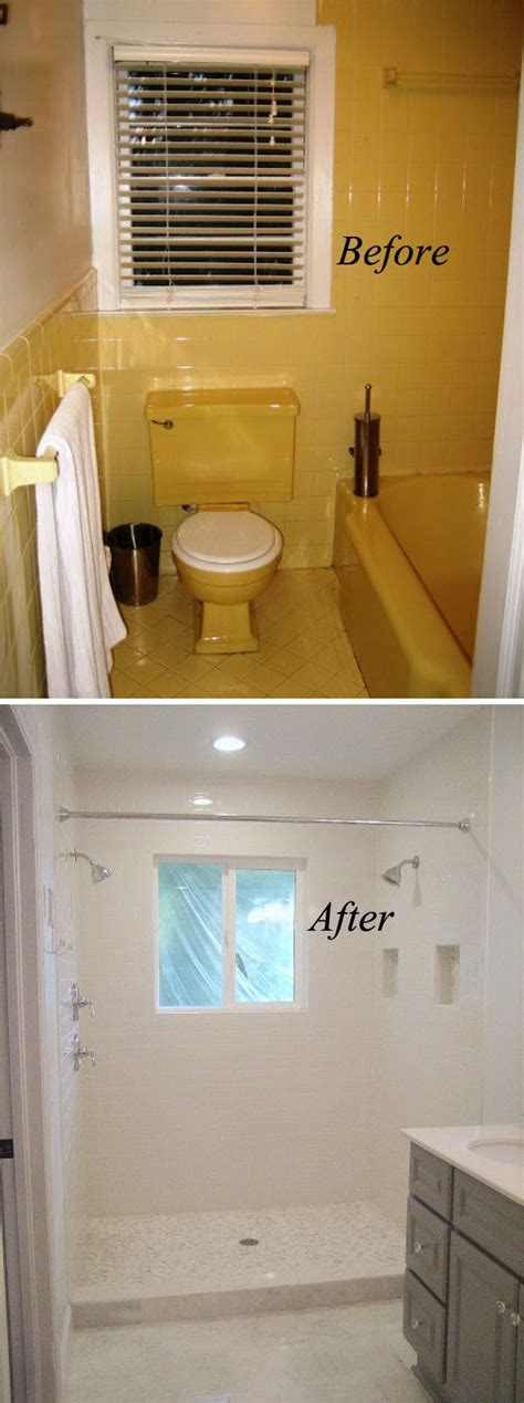 renovation ideas for small bathrooms best 25 small bathroom renovations ideas only on