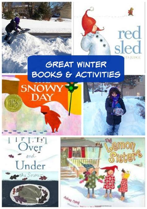 winter activity book for books with books and winter activities edventures