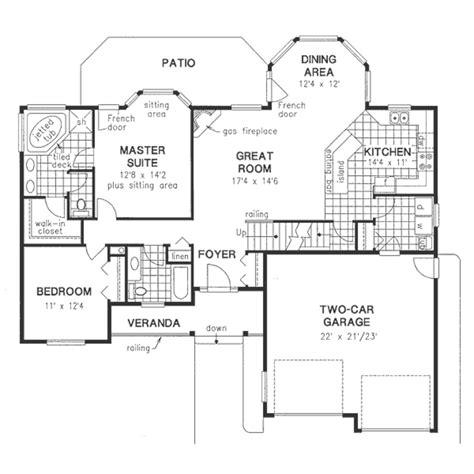empty nester floor plans ahscgs