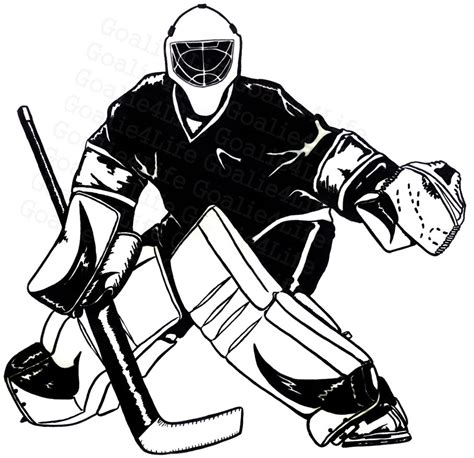 printable goalie mask hockey goalie clipart clipart suggest