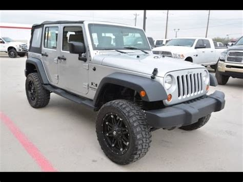 2wd jeep 2008 jeep wrangler unlimited x 2wd lifted