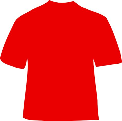 Baju Tshirt Polo baju polos merah clipart best