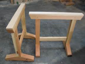 Sawbuck Table Build These Shop Horses With Simple Joinery Make