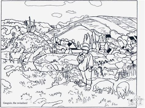 dibujos de cuadros famosos para colorear maestra de primaria cuadros famosos de pintores para