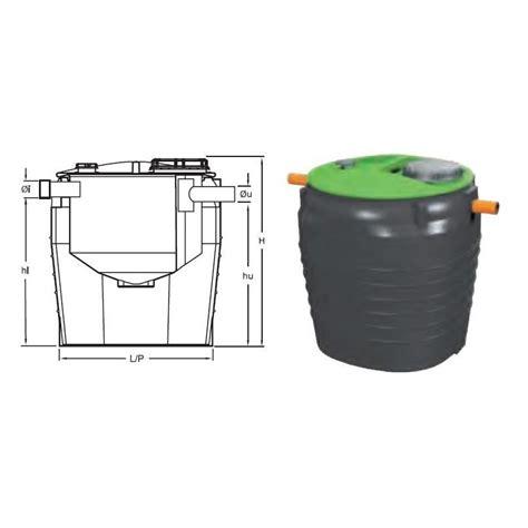 vasche imhoff polietilene organische polyethylen imhoff graben centro edile