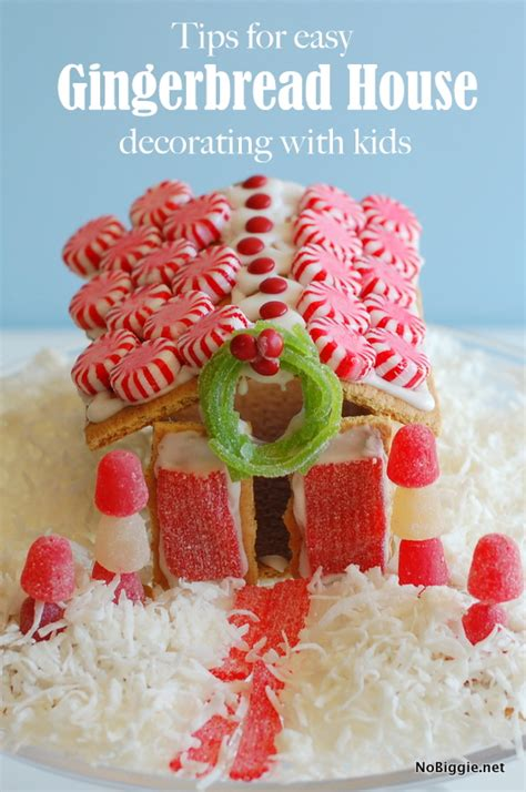 tips on decorating tips for gingerbread house making