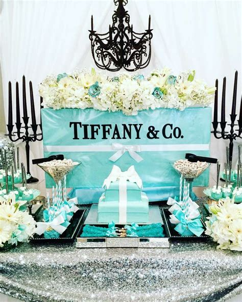 tiffany themed events tiffany and company bridal wedding shower party ideas