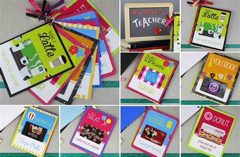 You Gift Card - free printables key ring full of gift cards for teacher