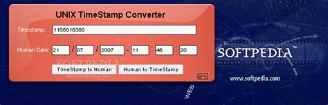 unix time unix timest converter