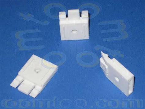 plastic curtain track brackets mottura small channel top fix bracket oomtoo
