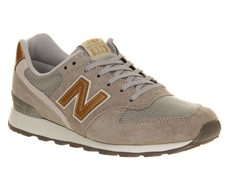 gold new balance sneakers new balance wr996 grey gold silver trainers shoes ebay
