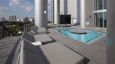 porsche design tower pool porsche design tower hosts grand opening in miami the drive