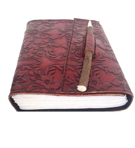 Handmade Leather Pencil - buy handmade leather neam pencil diary