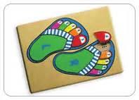 Puzzle Kayu Bentuk Pesawat mainan edukatif kayu permainan edukatif n