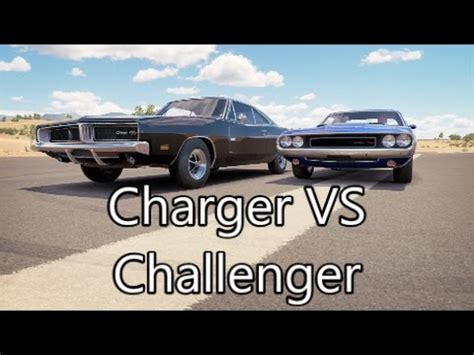 69 challenger vs 69 charger forza horizon 3 1969 dodge charger vs 1970 dodge