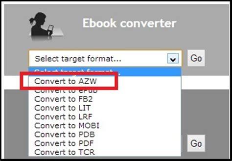 ebook format translator convert pdf to kindle format free online file