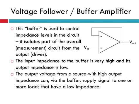 high input impedance capacitor coupled voltage follower content op application introduction inverting lifier ppt