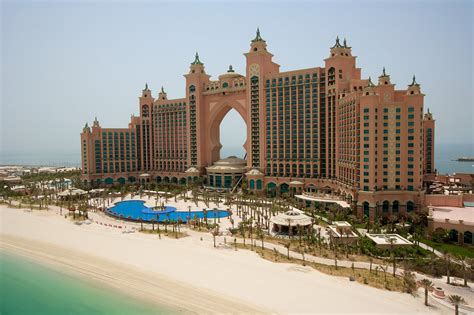 Atlantis Hotel Dubai Atlantis Hotel Area The Palm Jumeirah Hd 2013