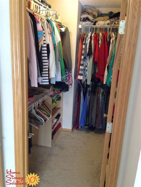 Decluttering Your Closet by How To Declutter Your Closet Hanging Clothes