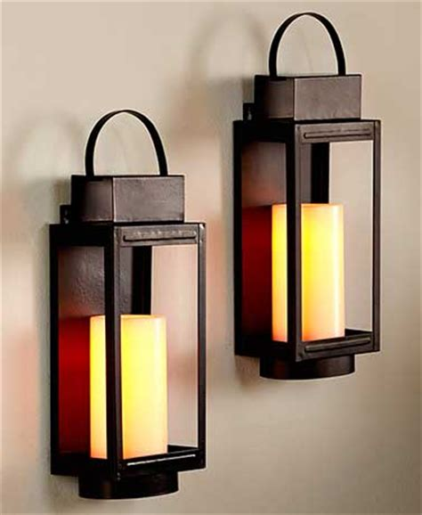 Lantern Sconce Candle Remote Led Stagecoach Candle Lantern Wall Sconces