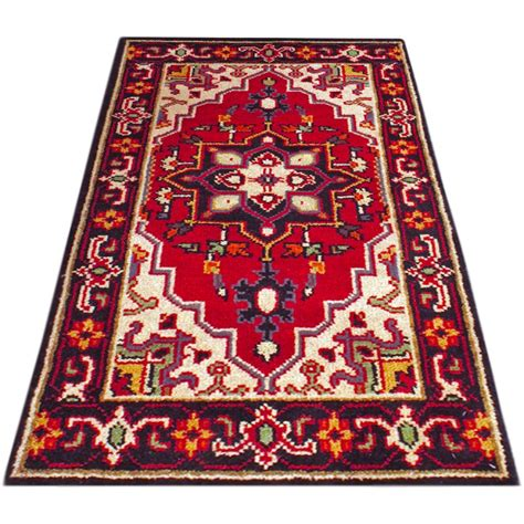 1 X 4 Rug - size 2 x 4 serapi wool rug from india
