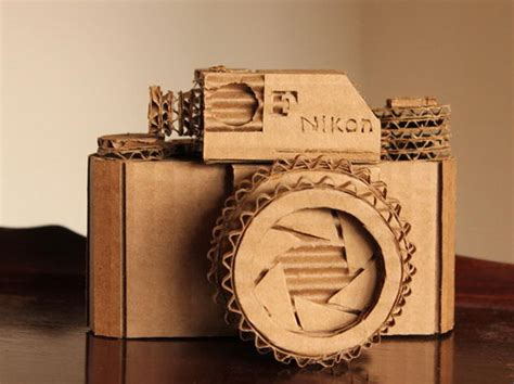 Cardboard Papercraft - 70 cool cardboard craft ideas hative