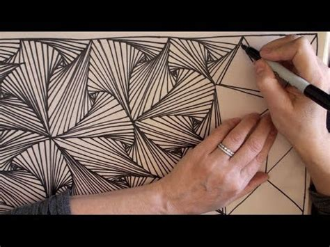 pattern drawing youtube speed doodling 2 speed drawing zentangle doodle